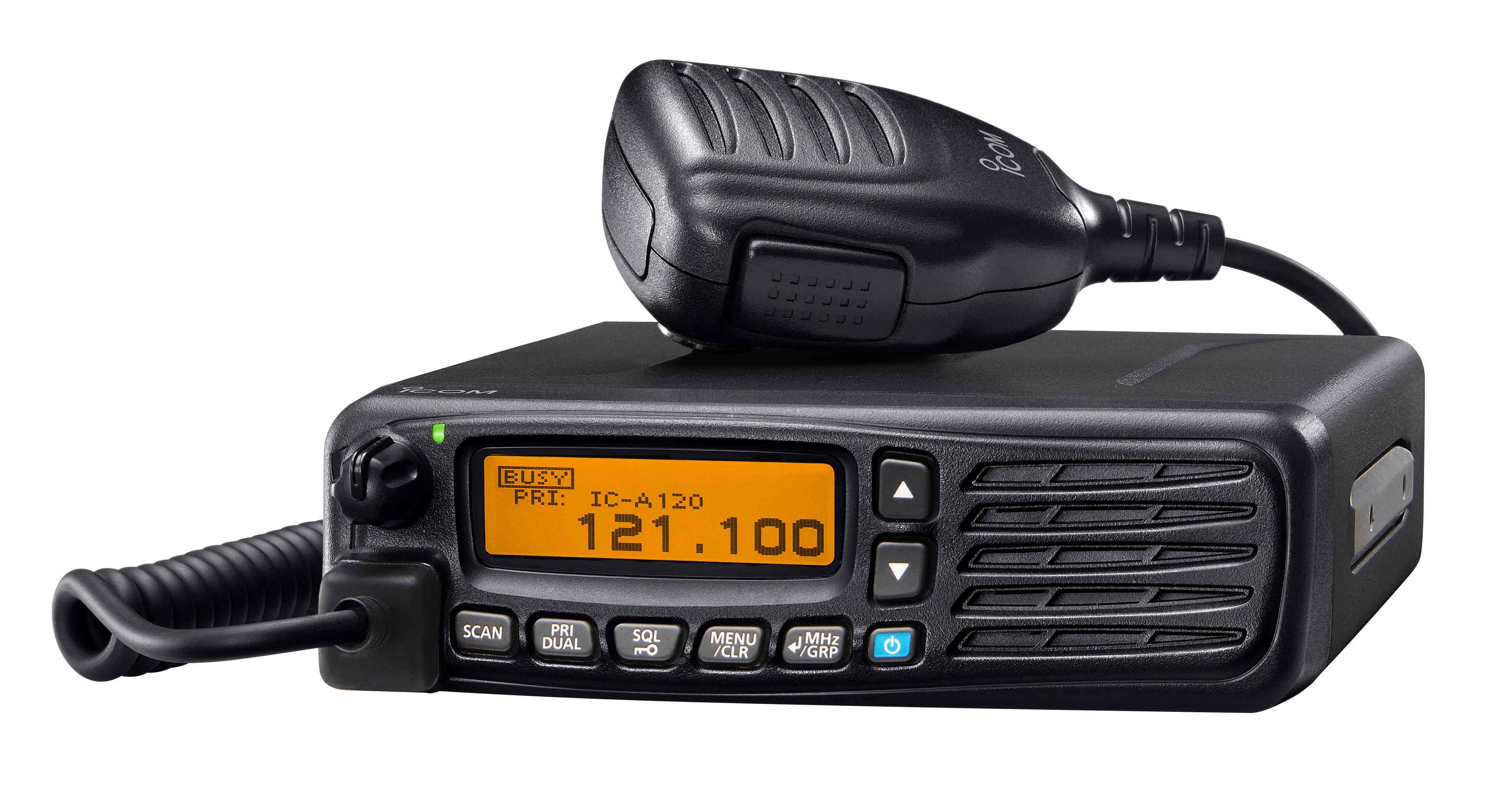 Icom's IC-A120E ground-based panel-mount vehicle airband radio is the  successor to the best selling IC-A110EURO airband transceiver.